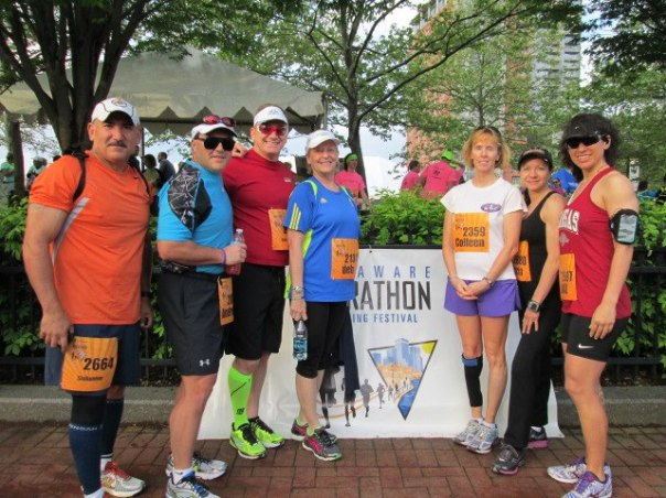50 States HALF Marathon Club members at Delaware Running Festival ...
