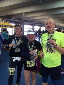 NC Half Marathon at Charlotte Motor Speedway