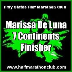 Official 7 Continents Endurance Challenge Finisher Marissa De Luna