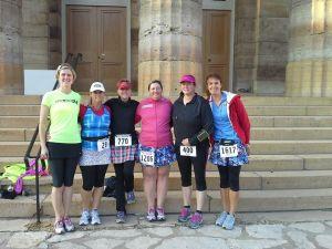 Fifty States Half Marathon Club members at Lincoln Presidential Half Marathon