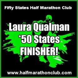 50 states finisher Laura Qualman
