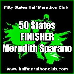 Meredith Sparano 50 states finisher