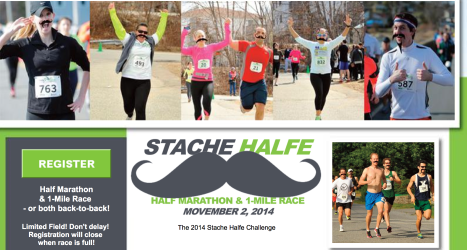 The Stache Halfe Half Marathon
