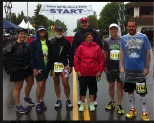 Alaska 50 States half marathon group meet up