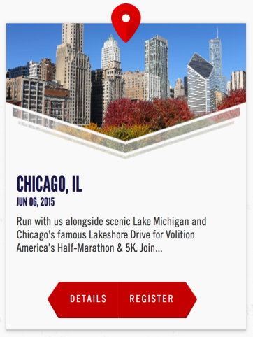 Volition America CHICAGO Half Marathon Discount